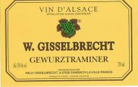 2007 Willy Gisselbrecht Gewurwtraminer
