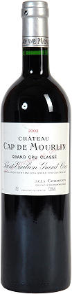 2001 Chateau Cap de Mourlin Saint-Emilion Grand Cru