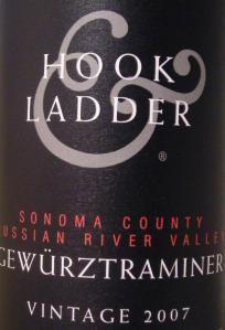 2007 Hook & Ladder Gewurztraminer