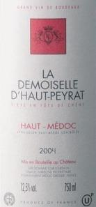 2004 La Demoiselle d'Haut-Peyrat
