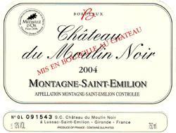 2004 Chateau du Moulin Noir