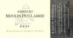 2003 Château Moulin Pey Labrie Canon-Fronsac
