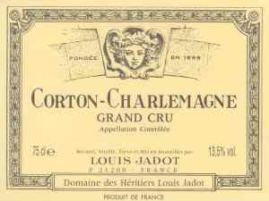 Corton Charlemagne