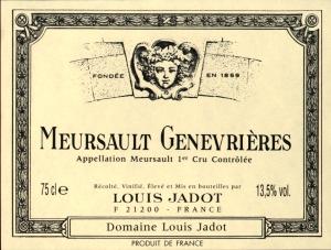 Meursault Genevrieres