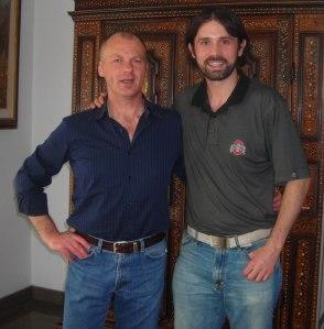Giorgio Lavagna and Kenny Galloway