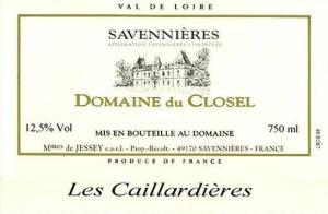 """Domaine du Closel """"Les Caillardières"""" Savennières"""