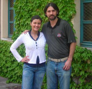 Gaia Gaja and Kenny Galloway