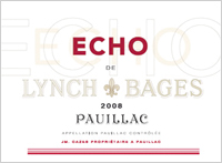 """2008 Château Lynch-Bages """"Echo"""""""