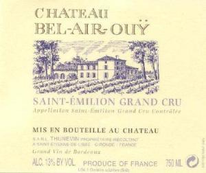 Château Bel-Air-Ouÿ