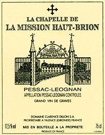 La Chapelle de La Mission Haut-Brion