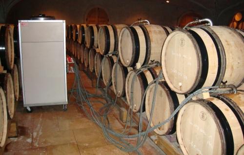 Cooling Condrieu fermentation