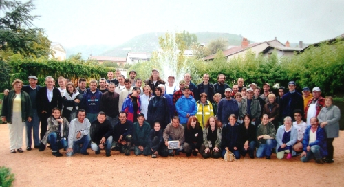 2009 harvest and vinification team